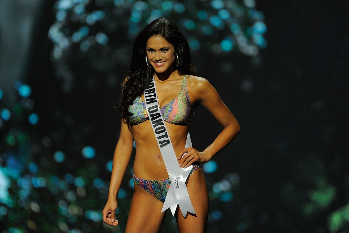 AUDRA MARI at Miss USA 2014 Preliminary Competition