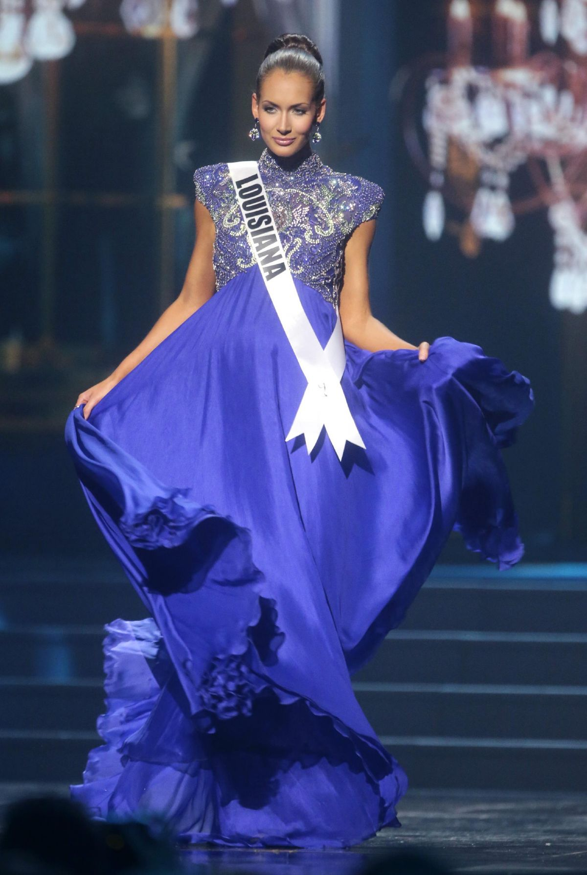 BRITTANY GUIDRY at Miss USA 2014 Preliminary Competition