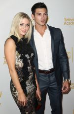 BROOKE NEWTON at Daytime Emmy Nominee Reception