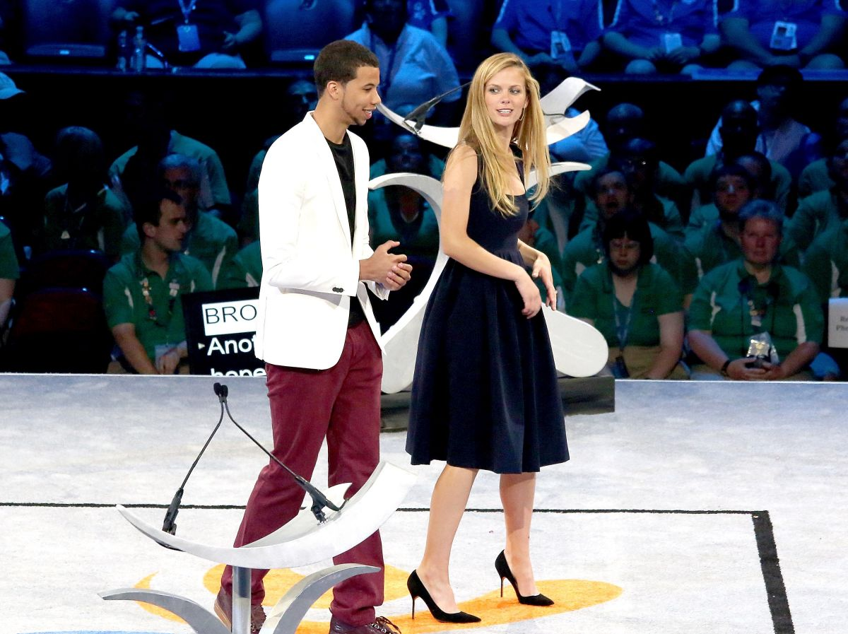 BROOKLYN DECKER at Special Olympics USA Games Opening Ceremony