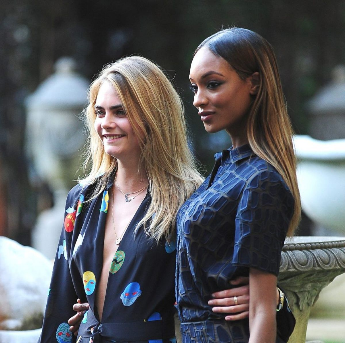 BFFs for life Cara Delevingne and Jourdan Dunn get