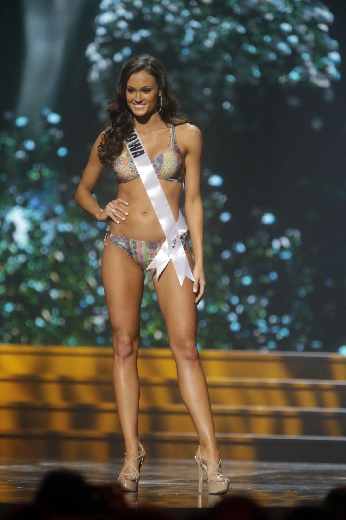 CARLYN BRADARICH at Miss USA 2014 Preliminary Competition