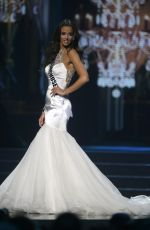 CAROLINE LUNNY at Miss USA 2014 Preliminary Competition