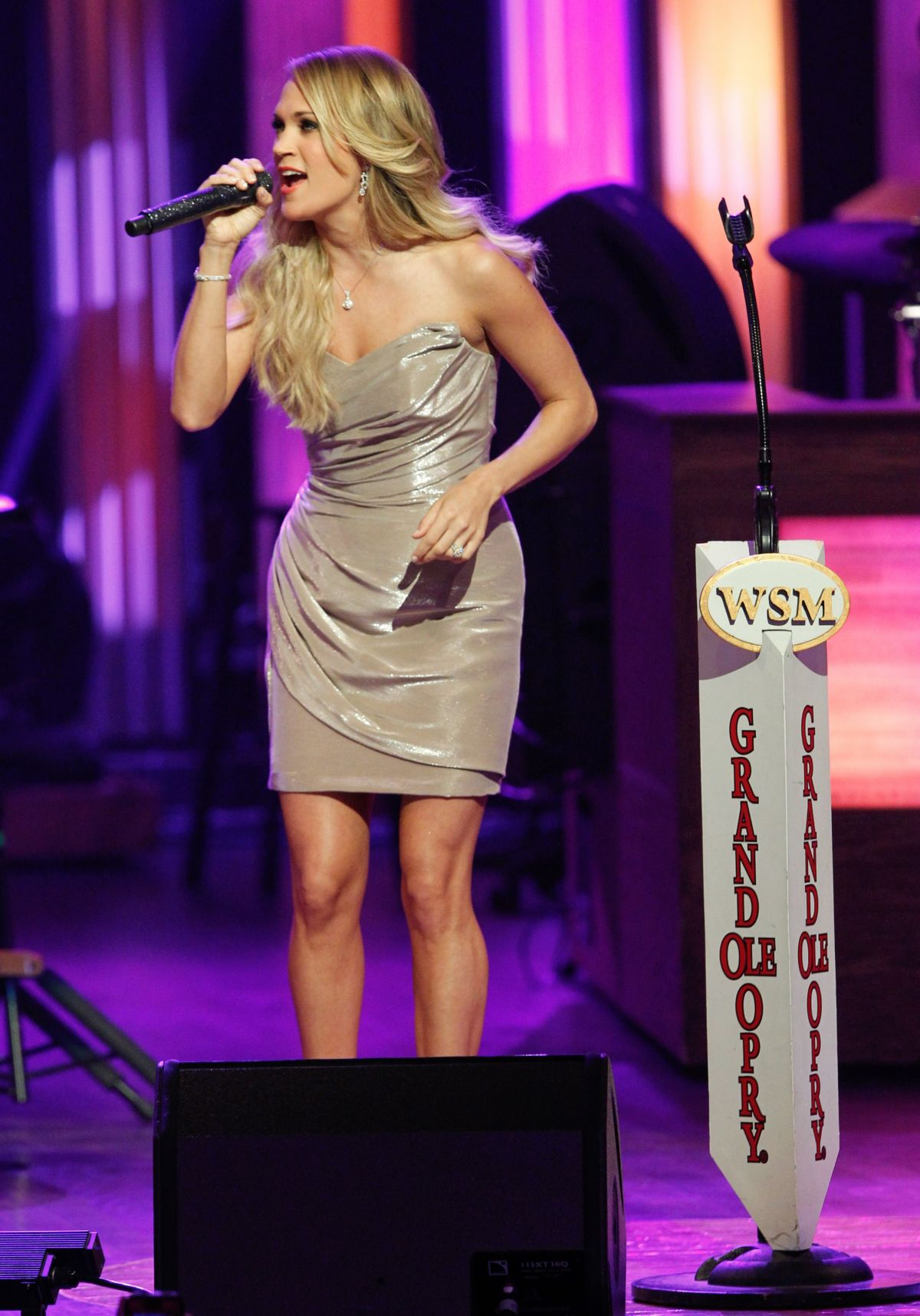 CARRIE UNDERWOOD at Grand Ole Opry Music Stage Concert in Nashville