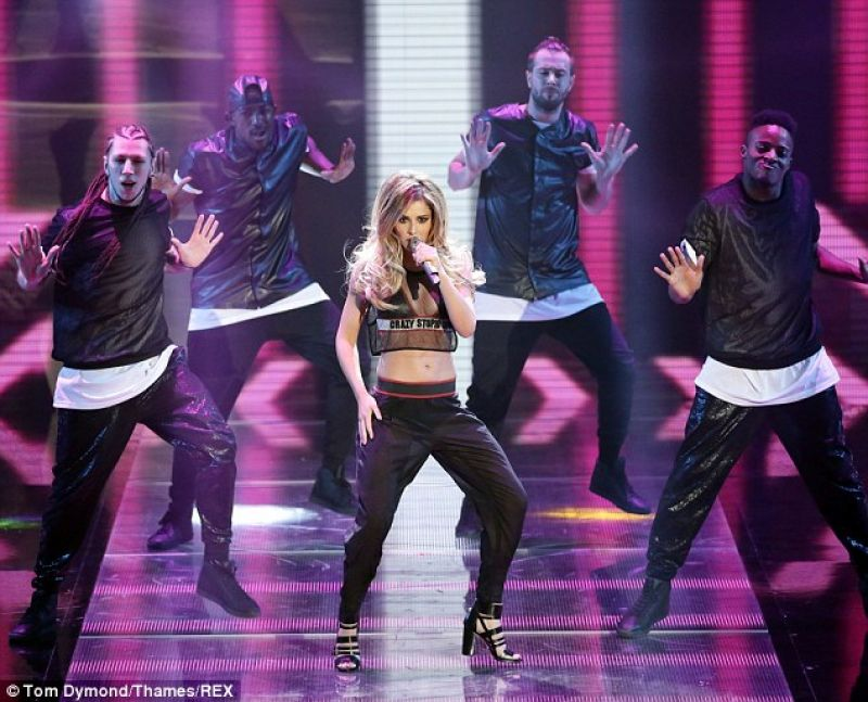 Cheryl Cole Performs At Britain S Got Talent Hawtcelebs