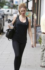 CHLOE SIMS Leaves a Gym in Essex