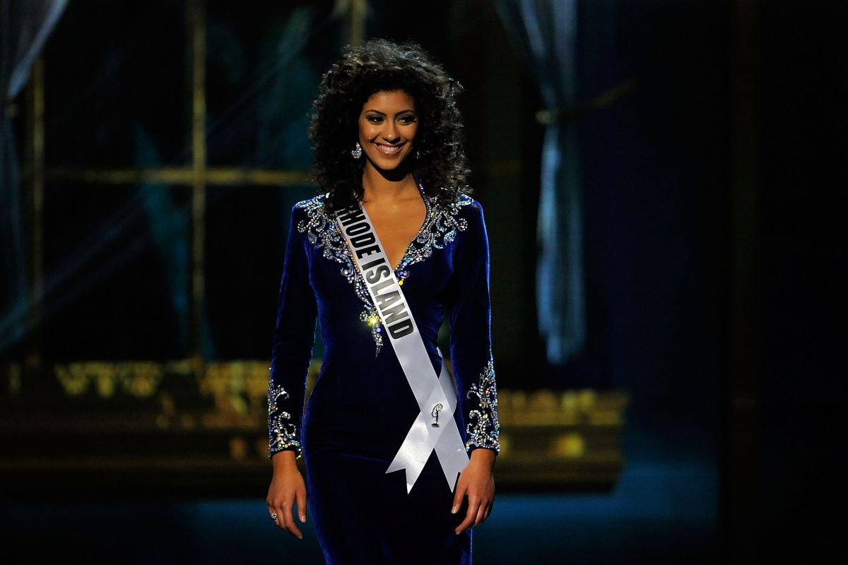 CHRISTINA PALAVRA at Miss USA 2014 Preliminary Competition