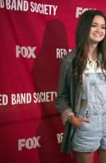 CIARA BRAVO at Red Band Society Premiere in Los Anfeles