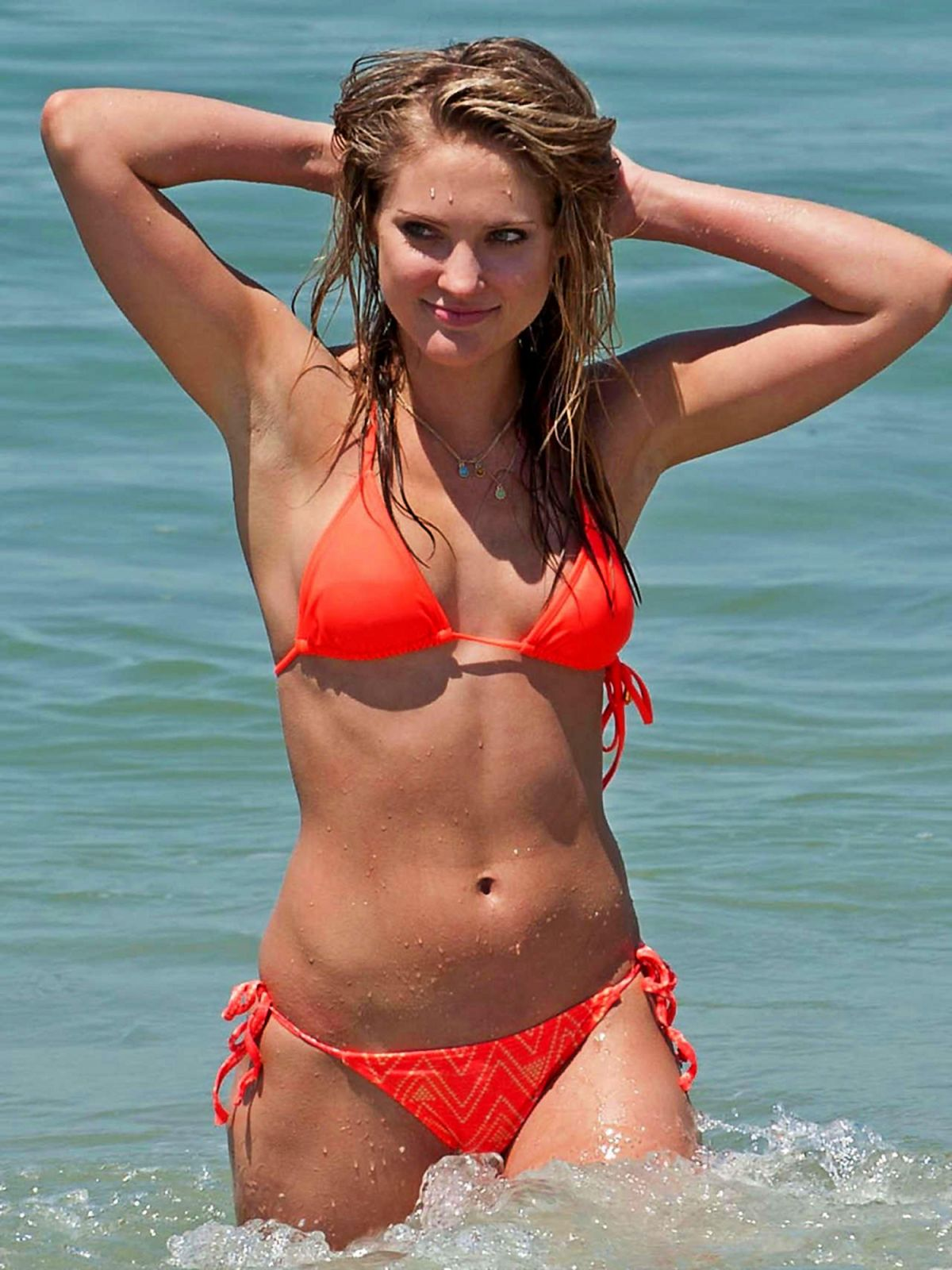 CIARA HANNA in Bikini at a Beach in Los Angeles