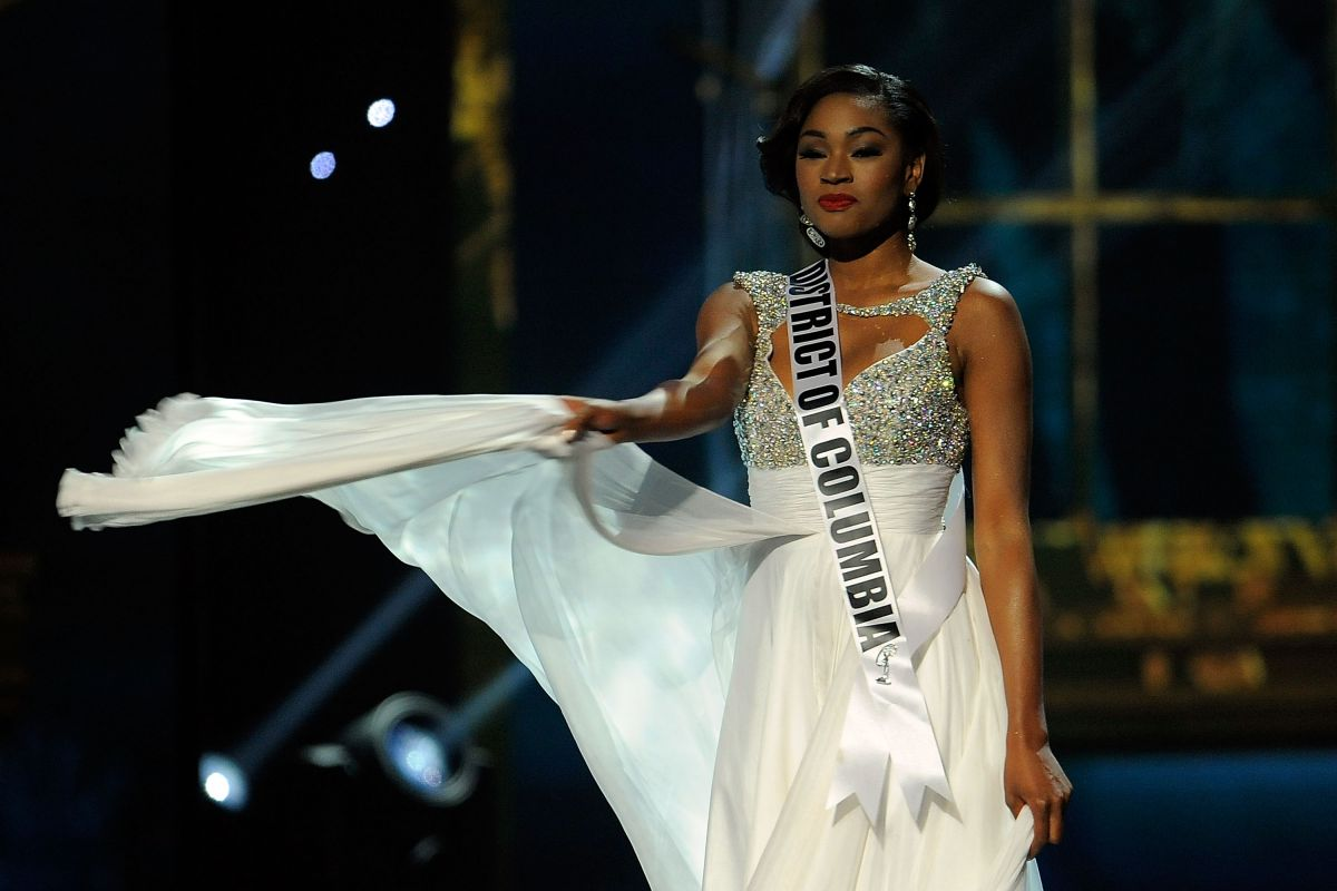 CIERA NICOLE BUTTS at Miss USA 2014 Preliminary Competition