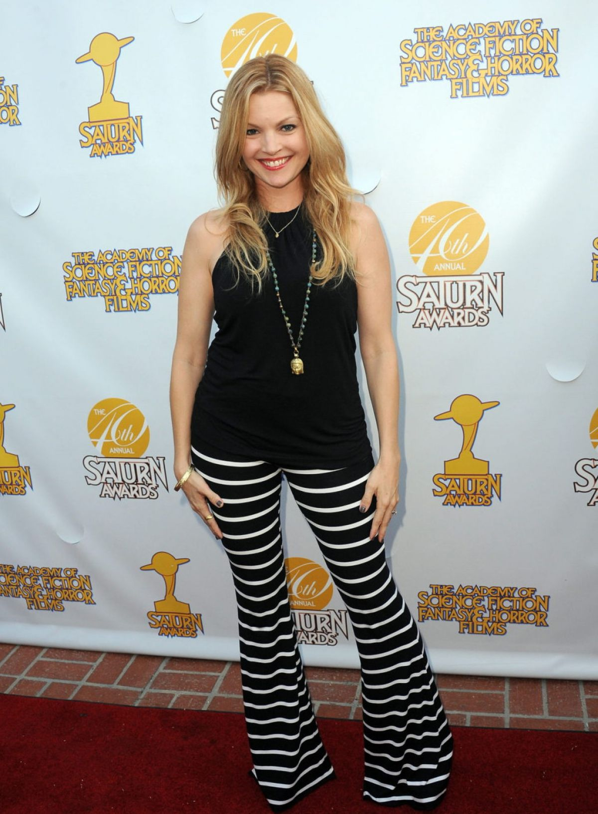 CLARE KRAMER at 2014 Saturn Awards in Burbank