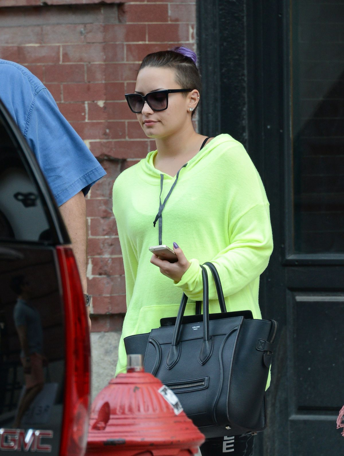 DEMI LOVATO Out in New York 2906