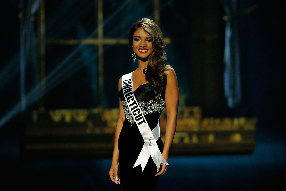 DESIREE PEREZ at Miss USA 2014 Preliminary Competition