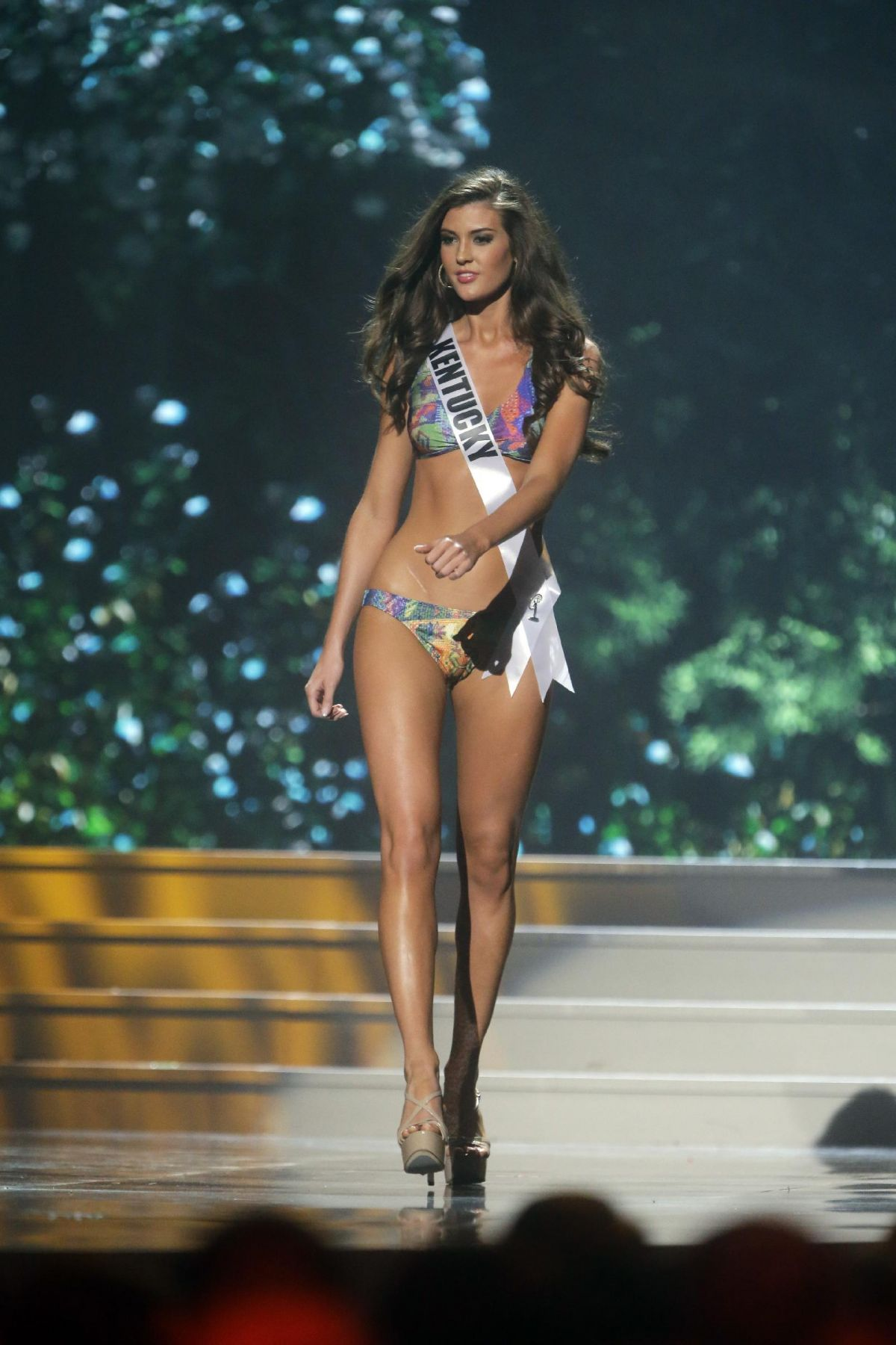 DESTIN KINCER at Miss USA 2014 Preliminary Competition