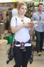 DIANNA AGRON Shopping at Erewhon Market in Hollywood