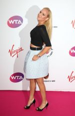 DONNA VEKIC at WTA Pre-wimbledon Party in London