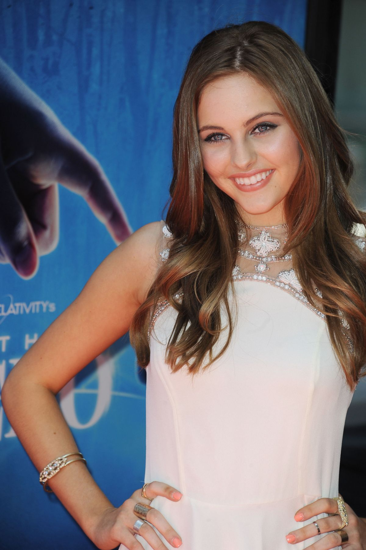 ELLA WAHLESTEDT at Earth to Echo Premiere at Los Angeles Film Festival