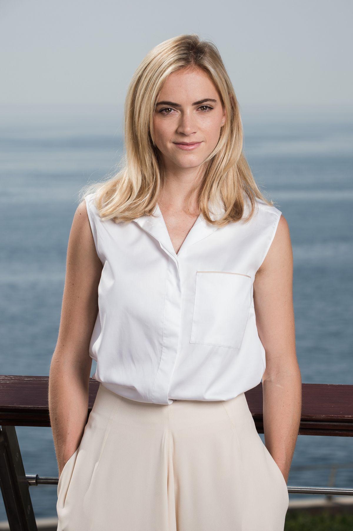 EMILY WICKERSHAM at 2014 Monte Carlo TV Festival