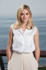 Emily Wickersham on Red Carpet - 2014 Monte Carlo TV