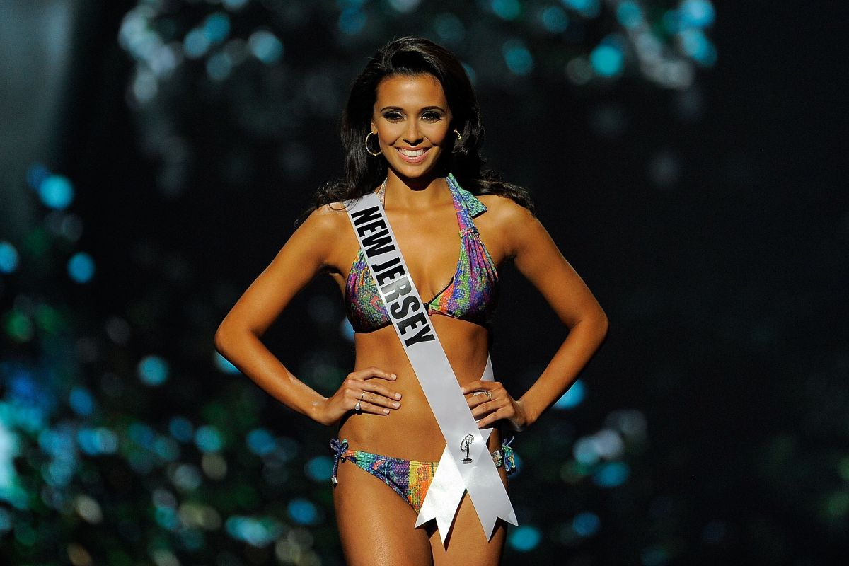 EMIMLY SHAH at Miss USA 2014 Preliminary Competition