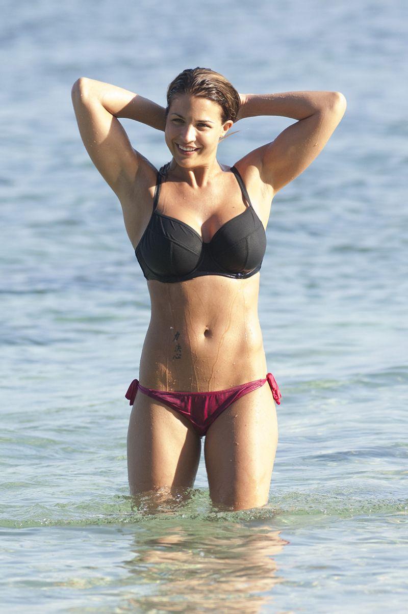 Gemma Atkinson In Bikini At A Beach In Bali Hawtcelebs