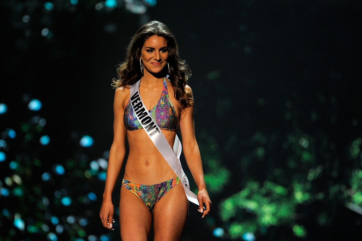 GINA BERNASCONI at Miss USA 2014 Preliminary Competition