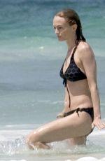 HEATHER GRAHAM in Bikini at a Beach in Cancun