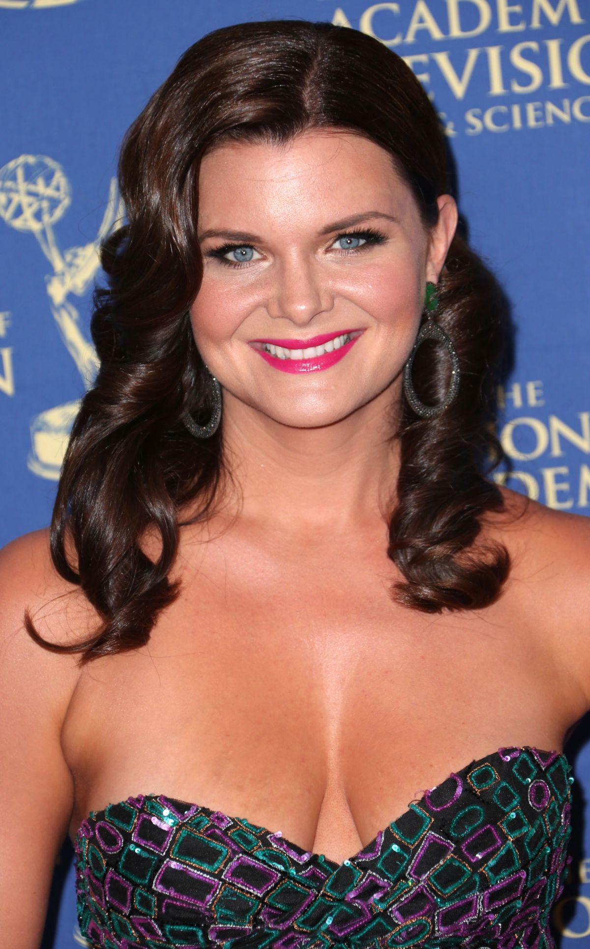 HEATHER TOM at Daytime Creative Arts Emmy Awards in Los Angeles