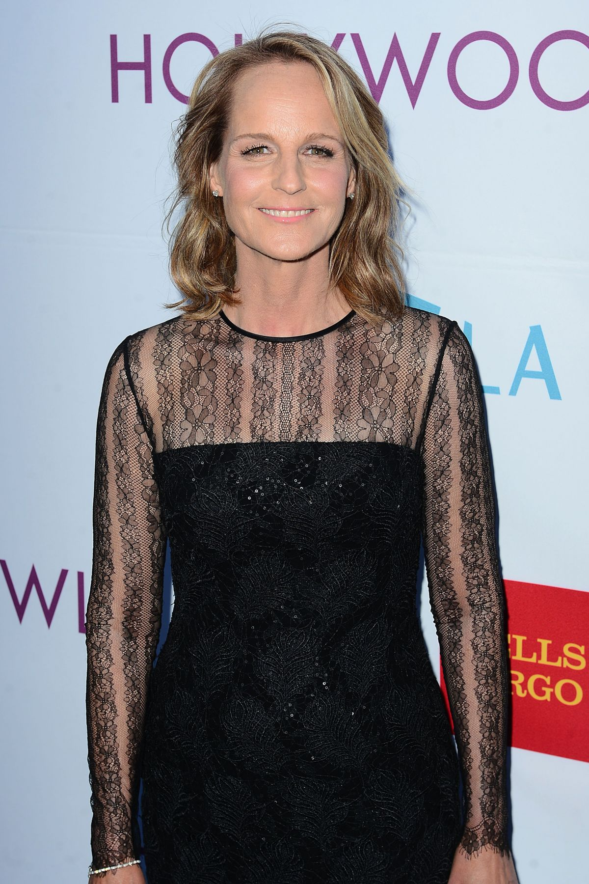 HELEN HUNT at 2014 Hollywood Bowl Opening Might and Hall of Fame Inductions