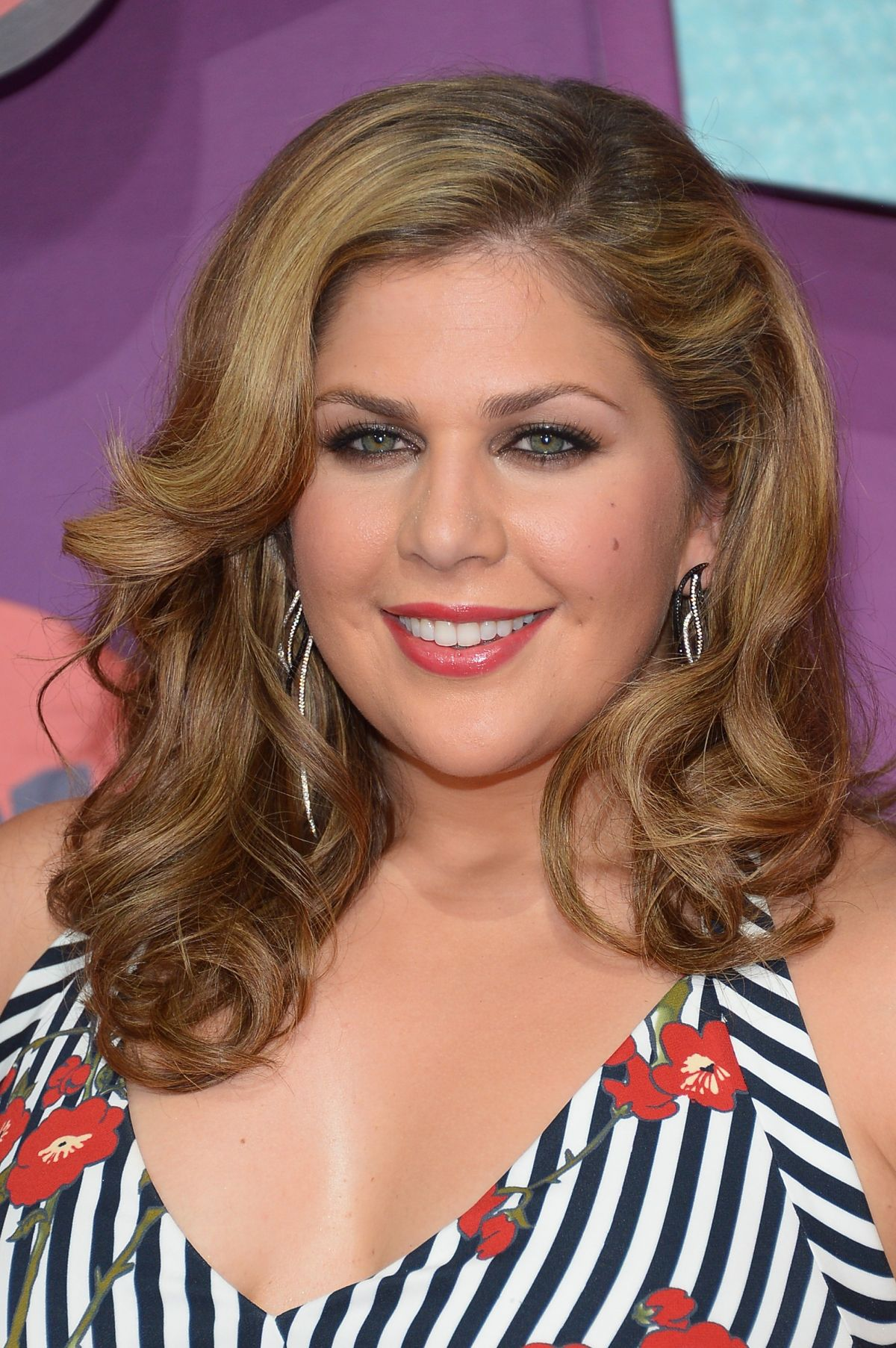HILLARY SCOTT at 2014 CMT Music Awards in Nashville