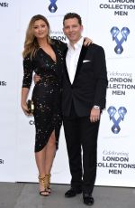 HOLLY VALANCE at One for the Boys Charity Fashion Ball in London