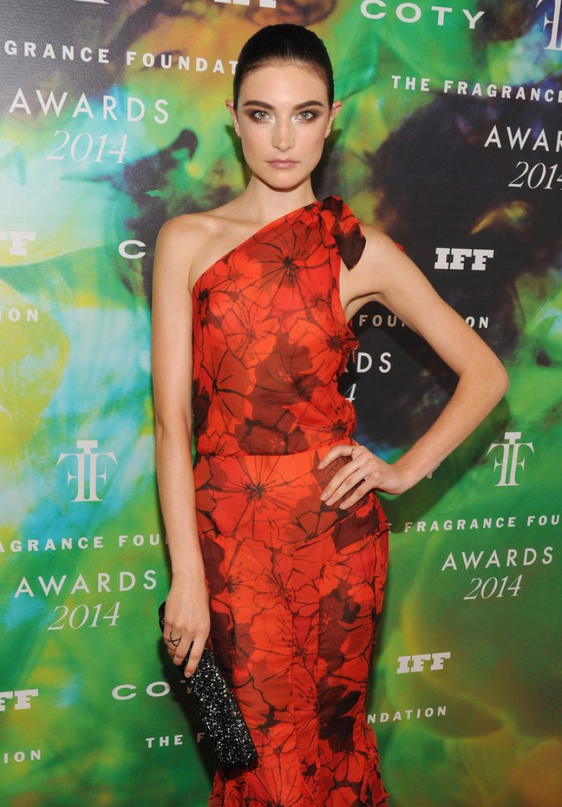 JACQUELYN JABLONSKI at Fragrance Foundation Awards in New York