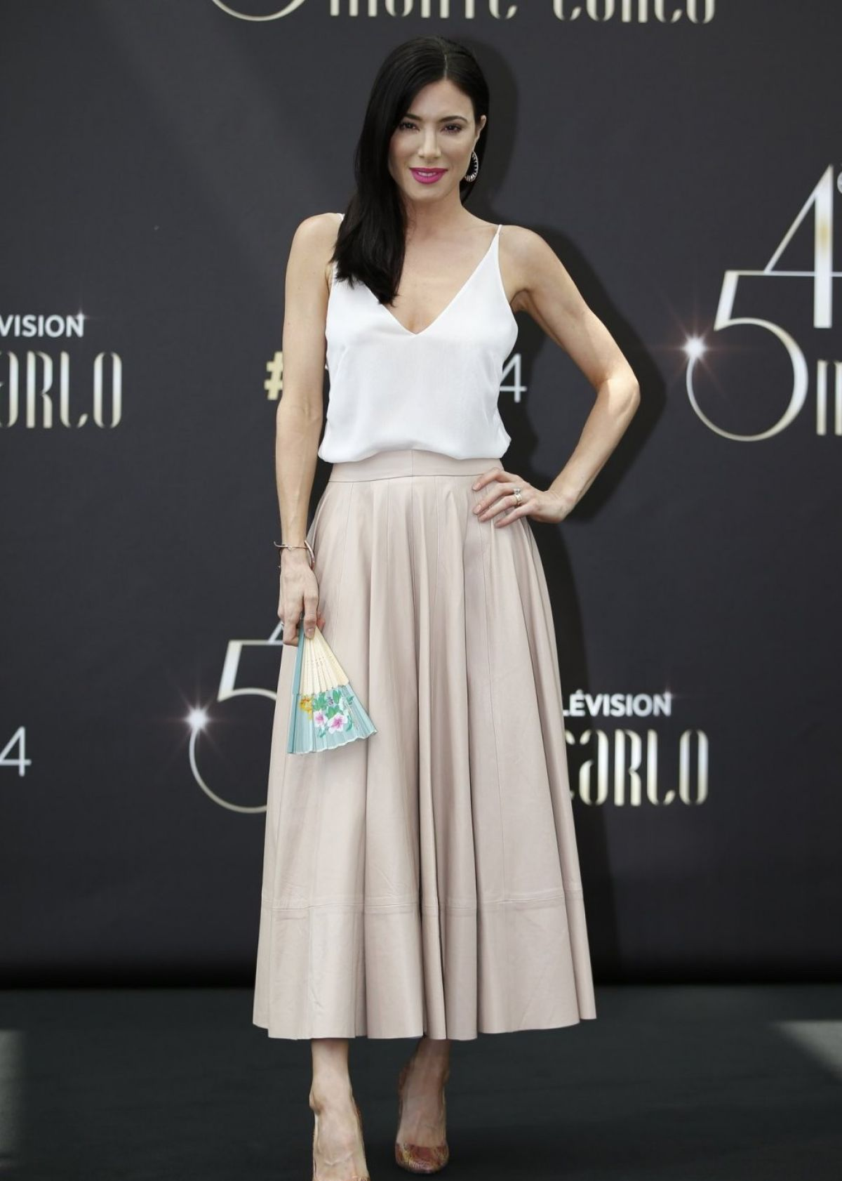 JAIME MURRAY at Defiance Photocall at 2014 Monte Carlo TV Festival