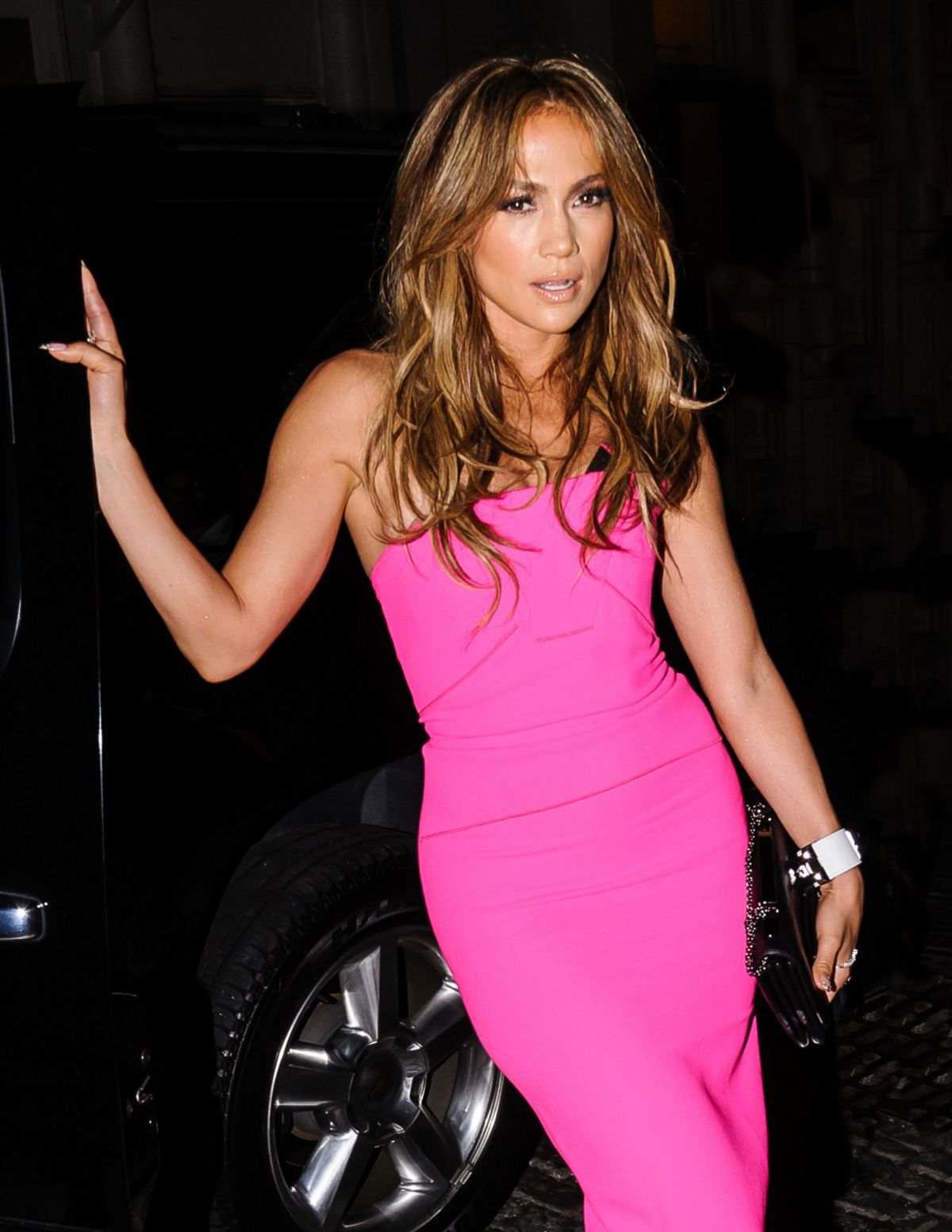 JENNIFER LOPEZ at A.K.A. Album Release Party in New York