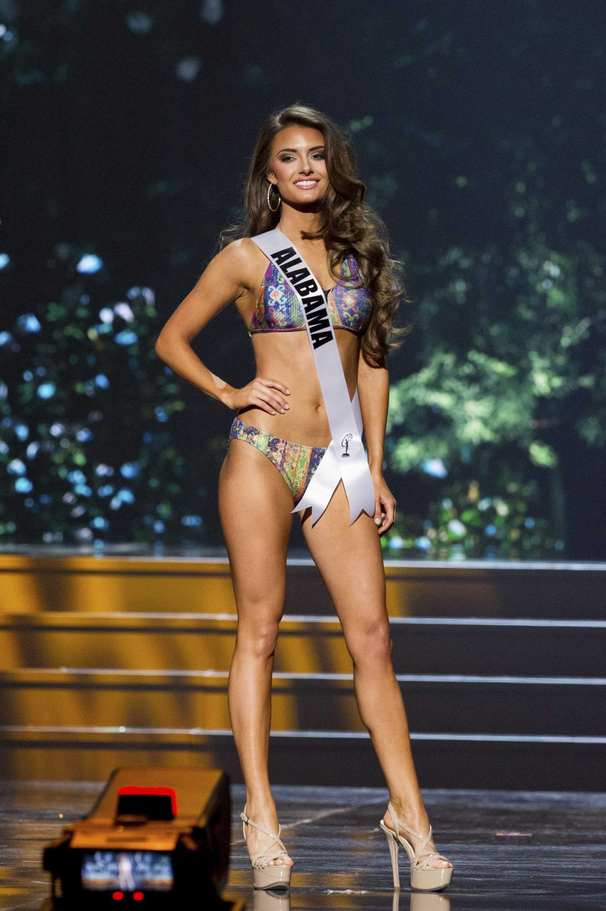 JESICA ALHBERG at Miss USA 2014 Preliminary Competition