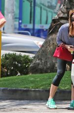 JESSICA BIEL Out and About in Hollywood