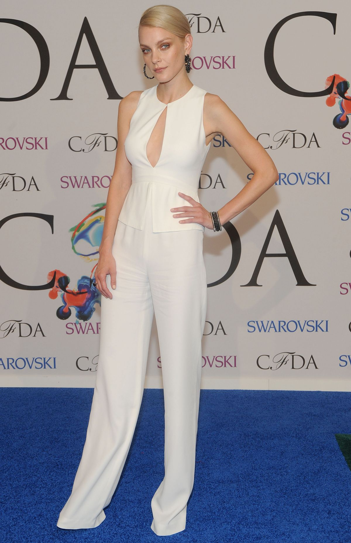 JESSICA STAM at CFDA Fashion Awards in New York