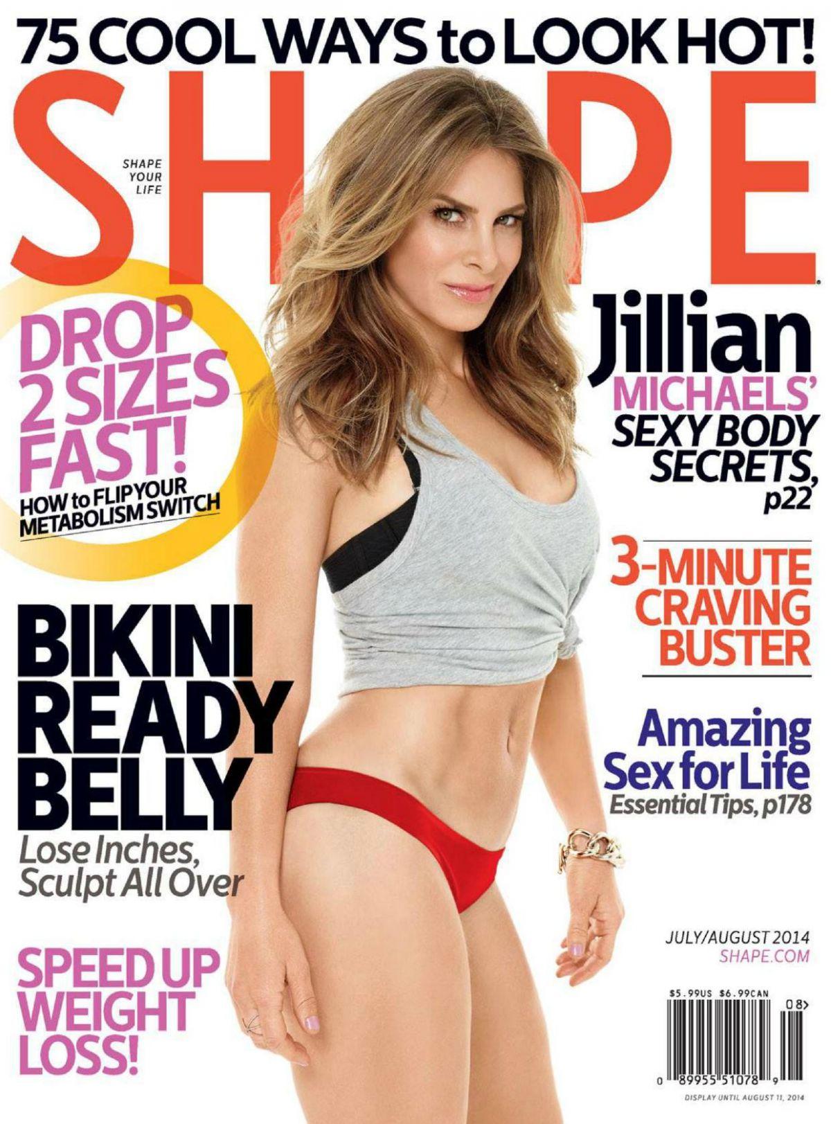 JILLIAN MICHAELS in Shape Magazine, July/August 2014 Issue