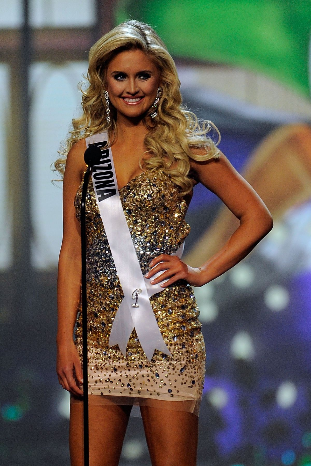 JORDAN WESSEL at Miss USA 2014 Preliminary Competition