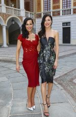 JULIE BENZ and JAIME MURRAY at Coctail at the Royal Palace in Monaco