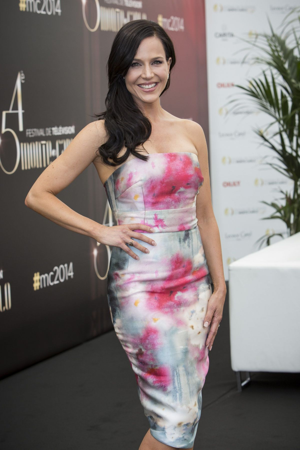 JULIE BENZ at 2014 Monte Carlo TV Festival Photocall