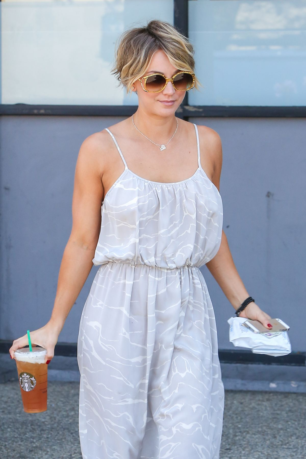 KALEY CUOCO Out and About in Los Angeles 0106