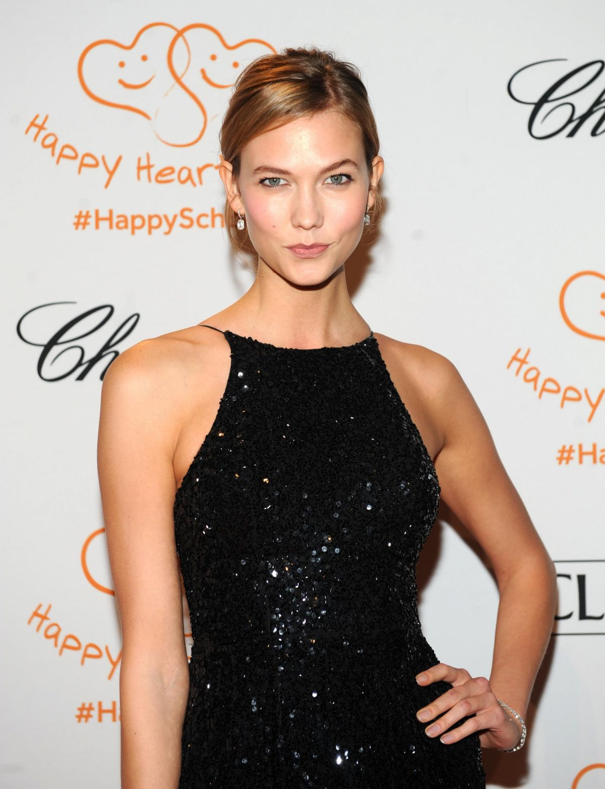 KARLIE KLOSS at Happy Fearts Fund 10 Tear Anniversary in New York