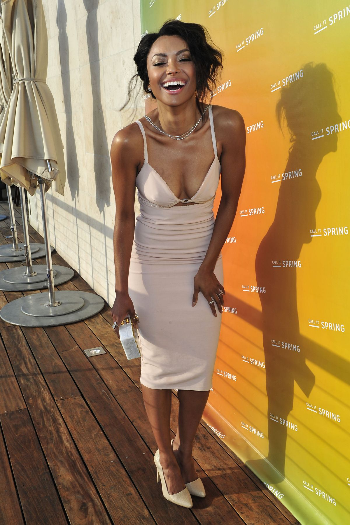 KAT GRAHAM at Call It Spring Summer 2014 Launch in Beverly Hills