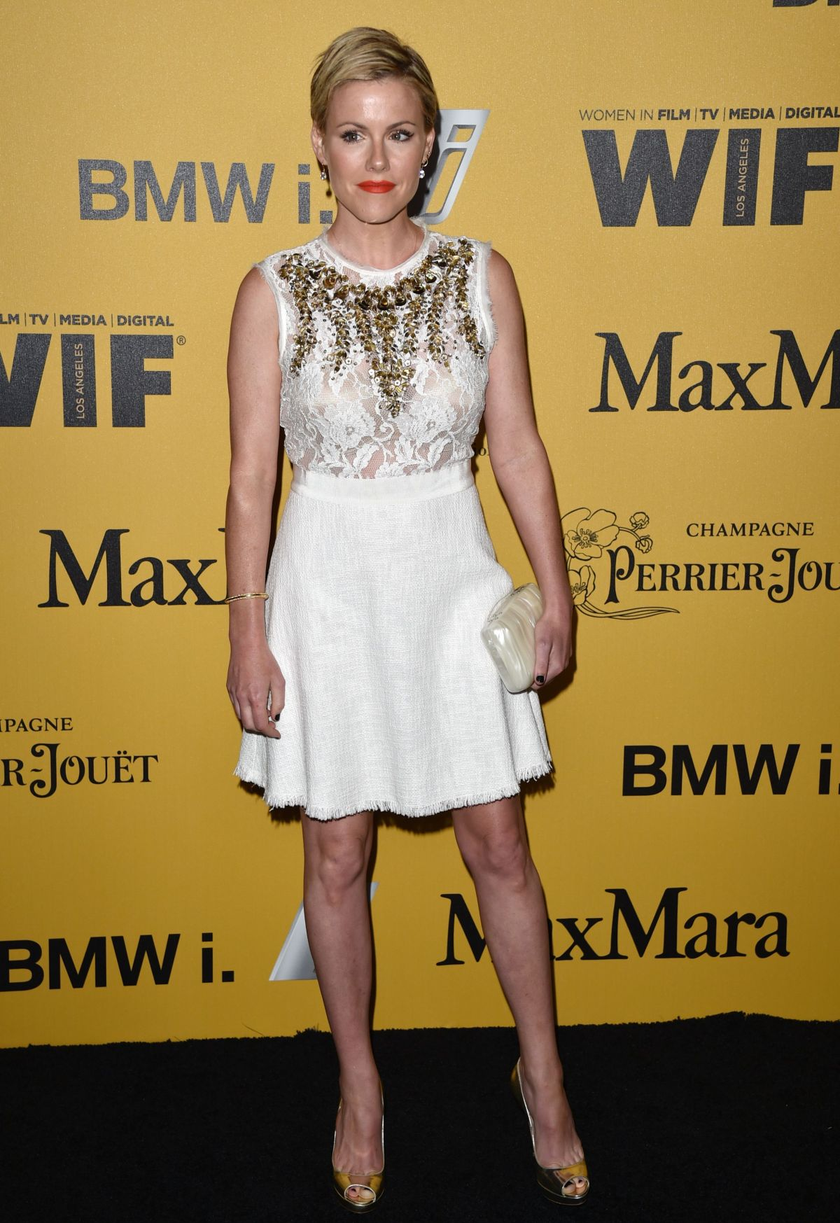 KATHLEEN ROBERTSON at Women in Film 2014 Crystal and Lucy Awards in Los Angeles