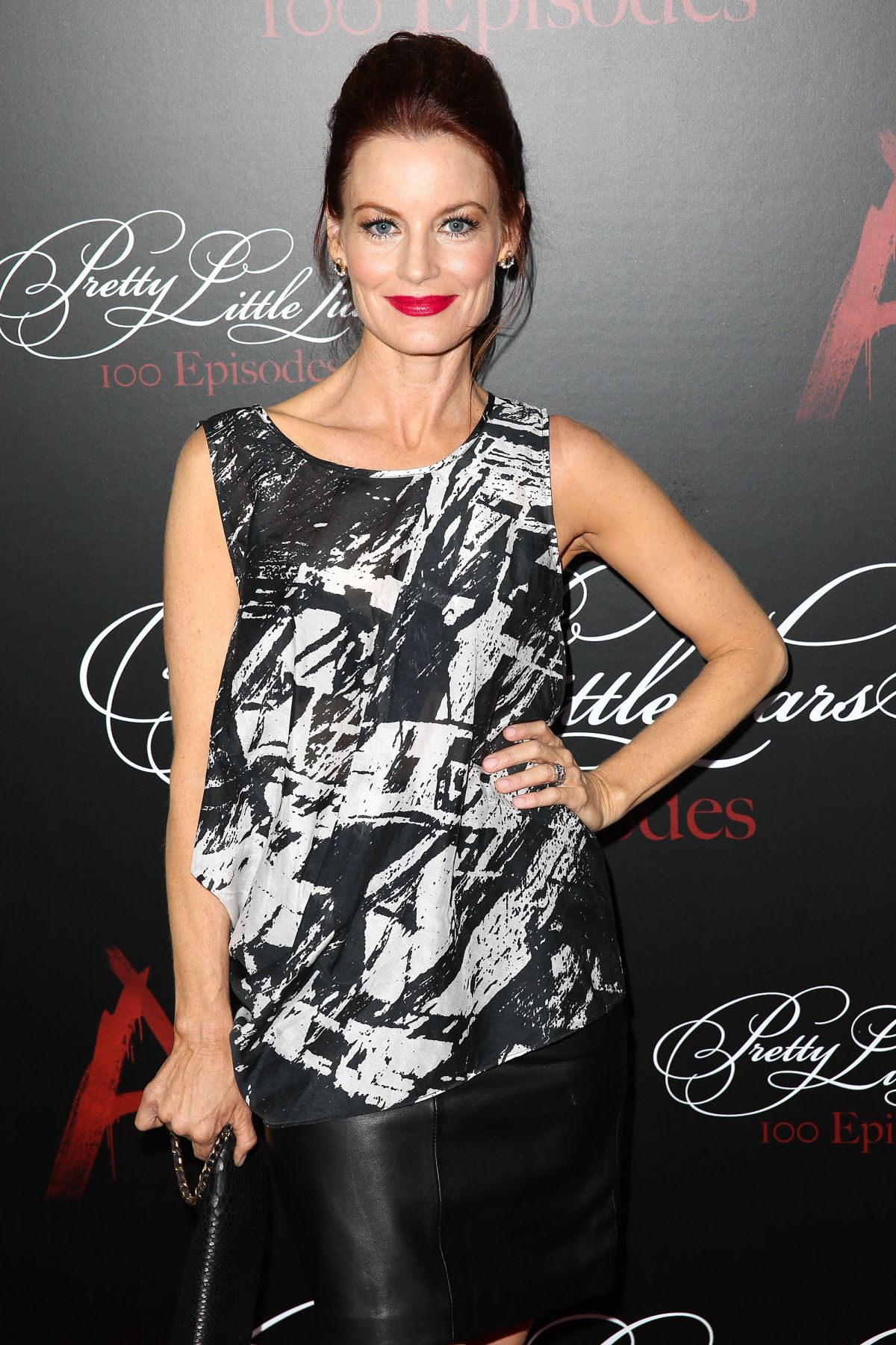 KAURA LEIGHTON at Pretty Little Liars 100th Episode Celebration in Hollywood