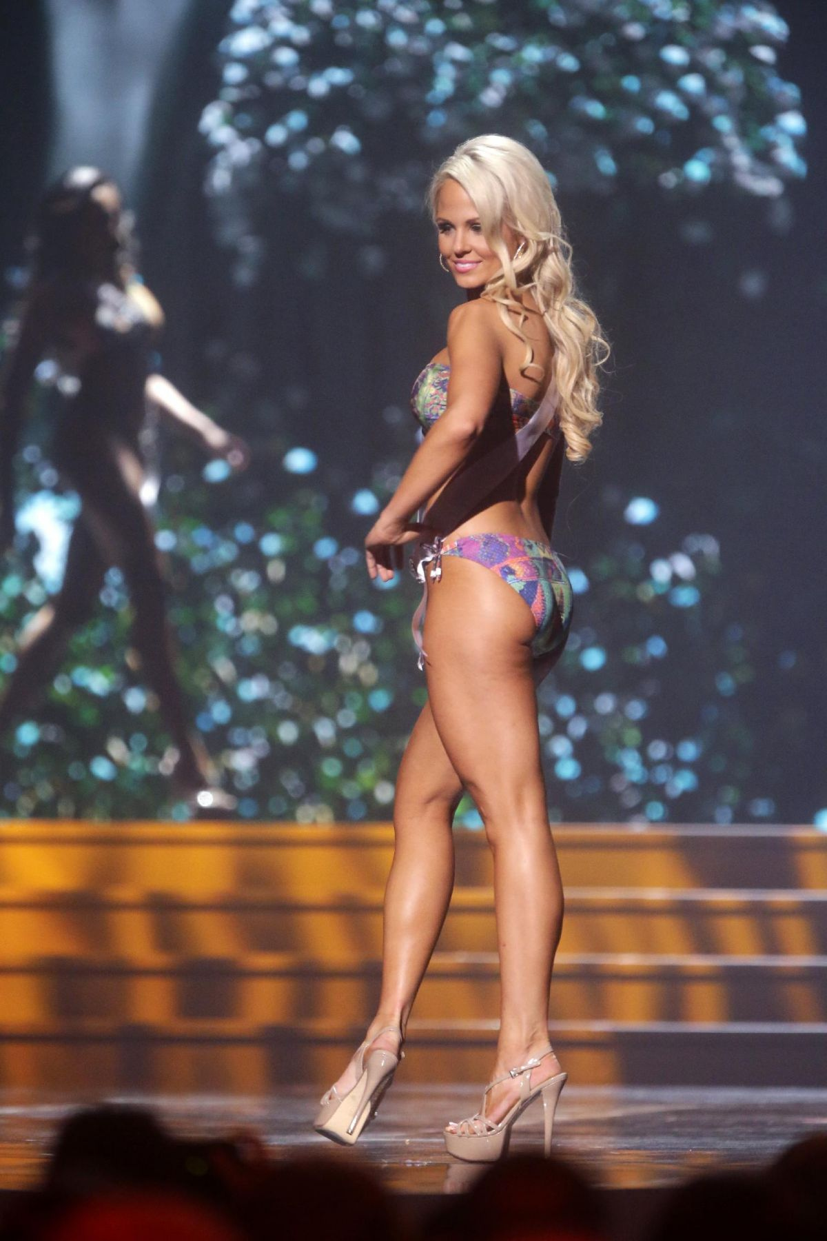 KELSEY MILLER at Miss USA 2014 Preliminary Competition