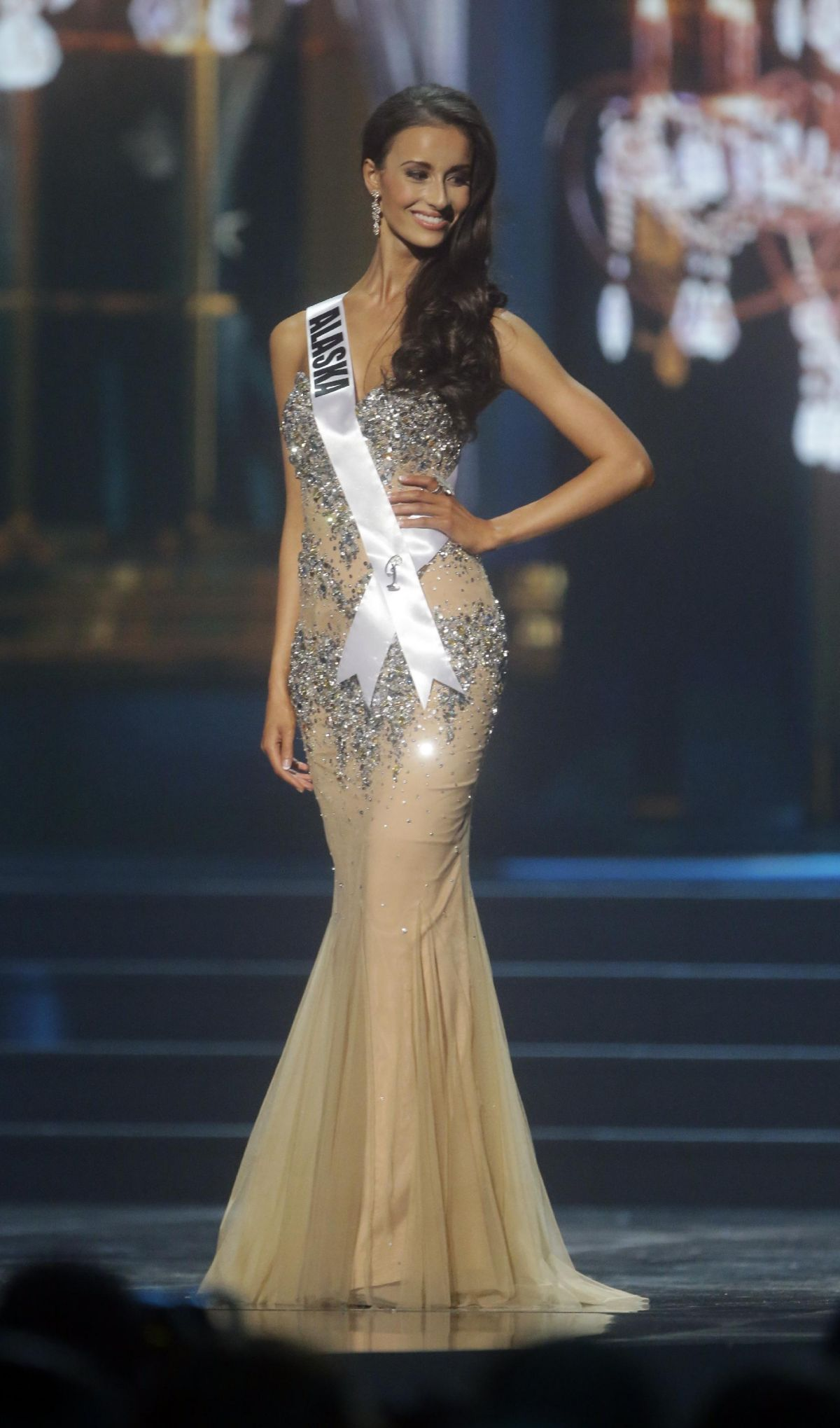 KENDALL BAUTISTA at Miss USA 2014 Preliminary Competition