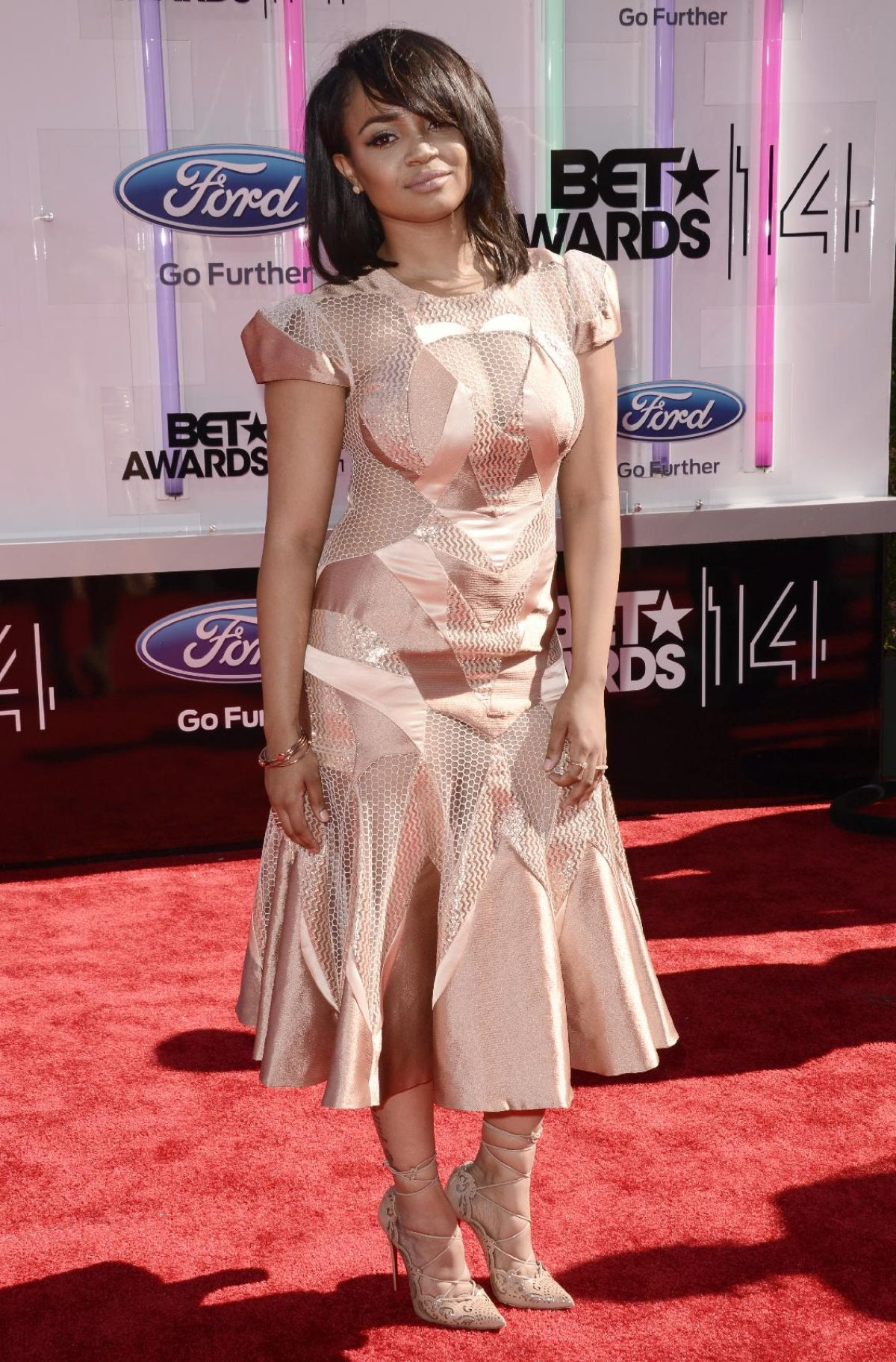 KYLA PRATT at 2014 Bet Awards in Los Angeles