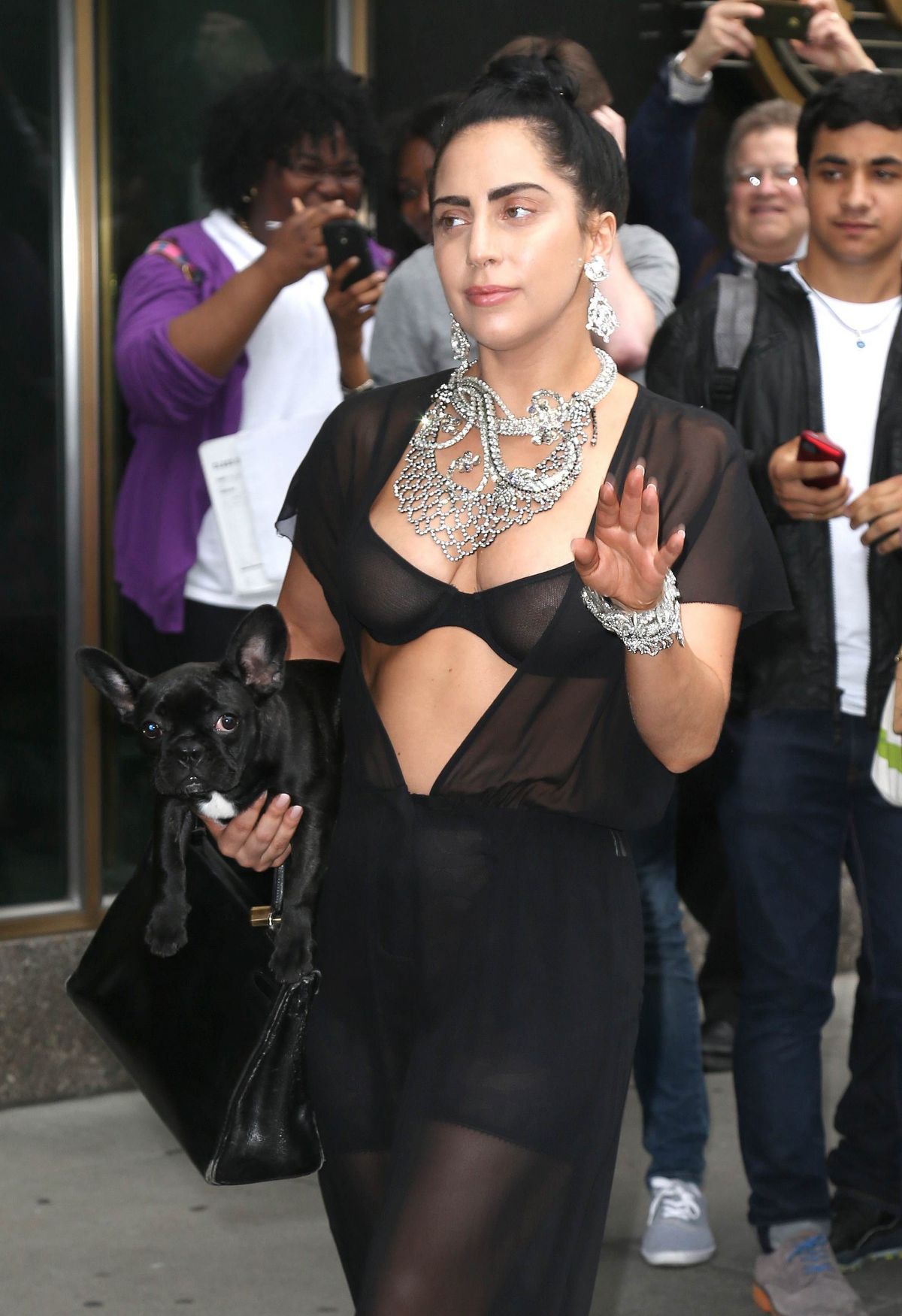 LADY GAGA Out and About in New York 1206